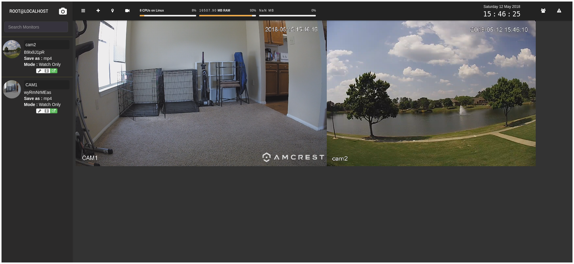 Linux Surveillance Camera Software Evaluation - Jason Antman's Blog